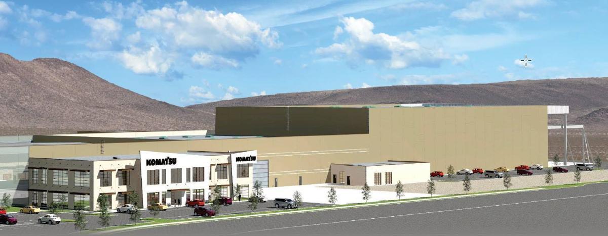 Komatsu breaks ground for huge facility