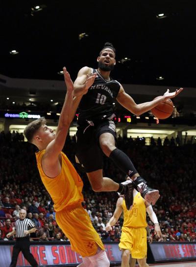 Nevada New Mexico Basketball