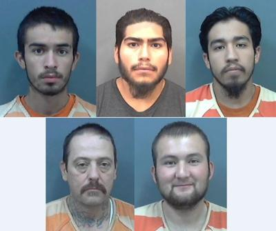 Gun theft arrests