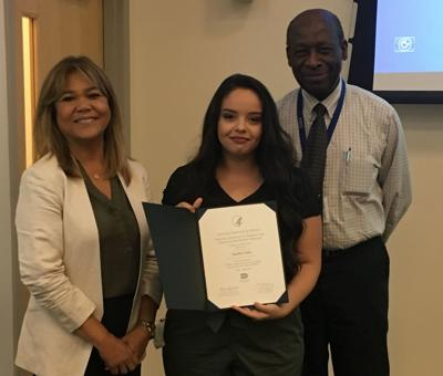 GBC student presents research at NIH Headquarters