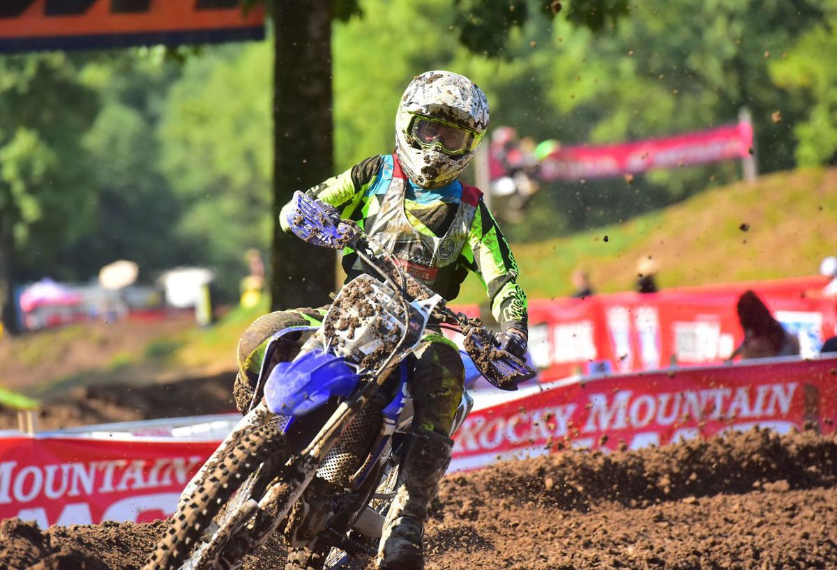Local makes his mark in motocross