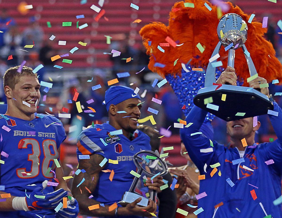 Boise State Broncos -- Las Vegas Bowl Champions