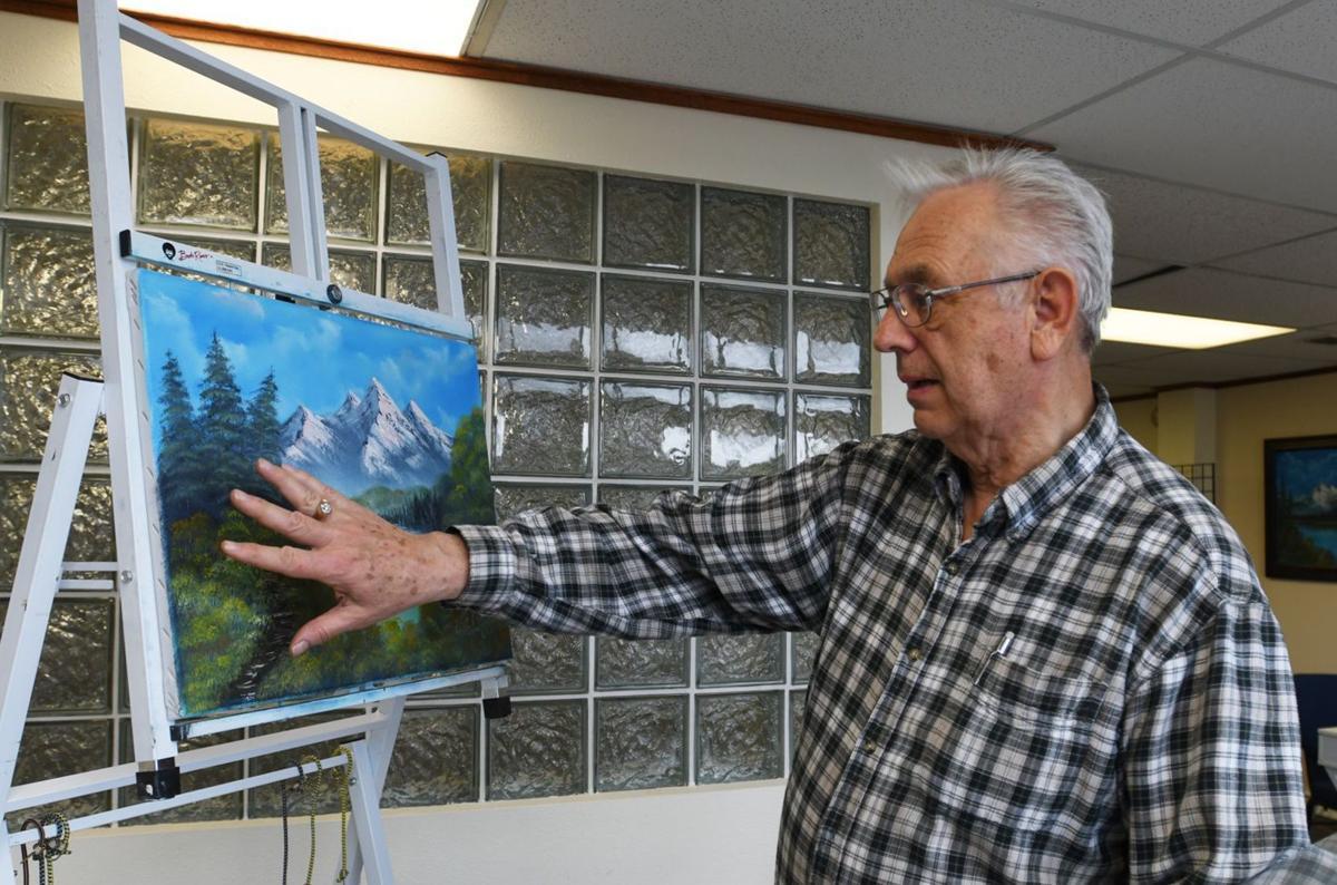 Painting for pleasure - local opens studio