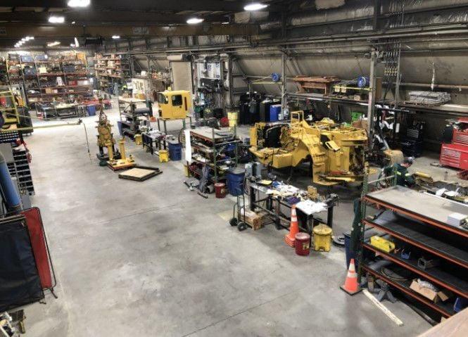 Small Mine Development shop interior