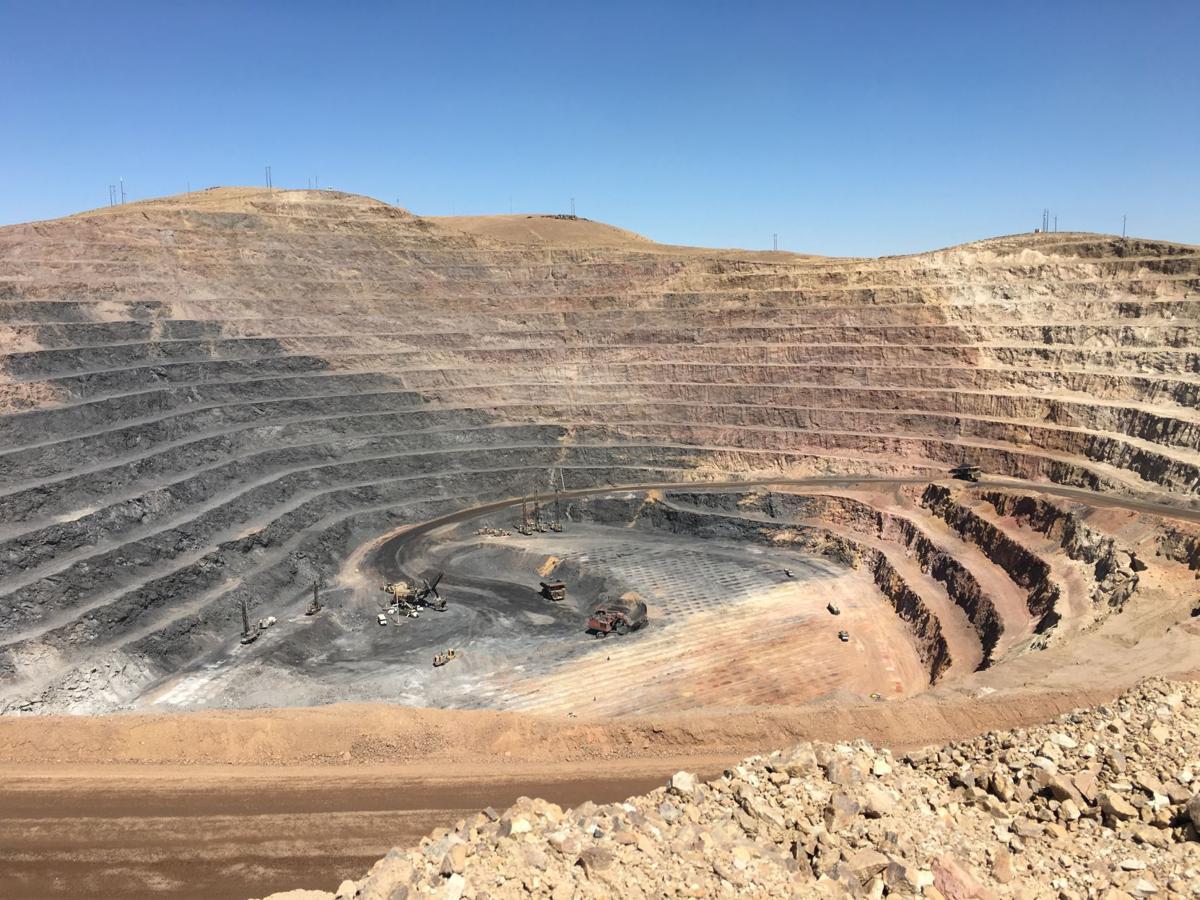 Mining at South Arturo