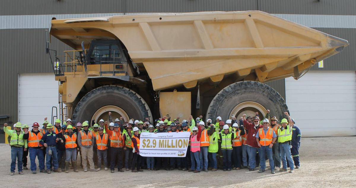 Newmont Legacy Fund sets records