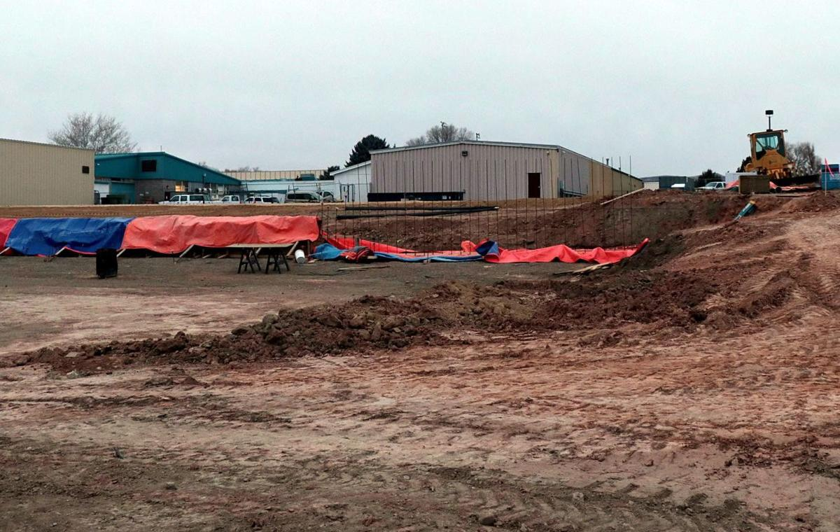 Construction begins on high school science building