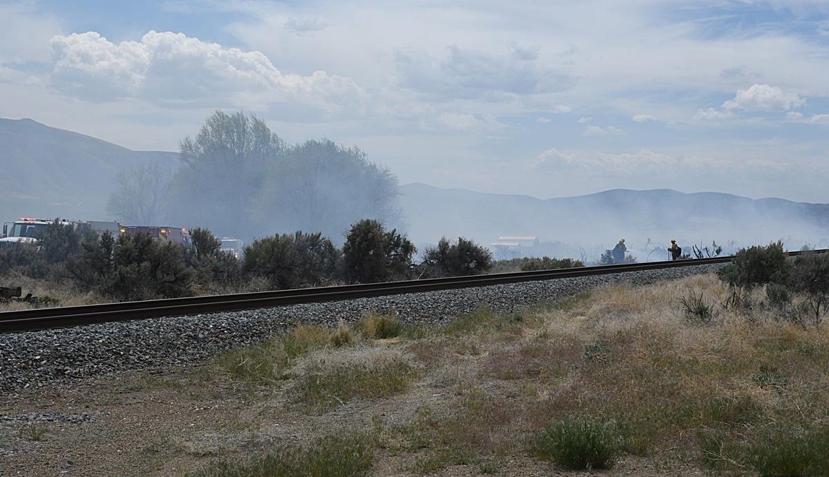 Anchor S Ranch fire