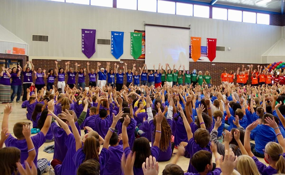 Mountain View Elementary creates magical community