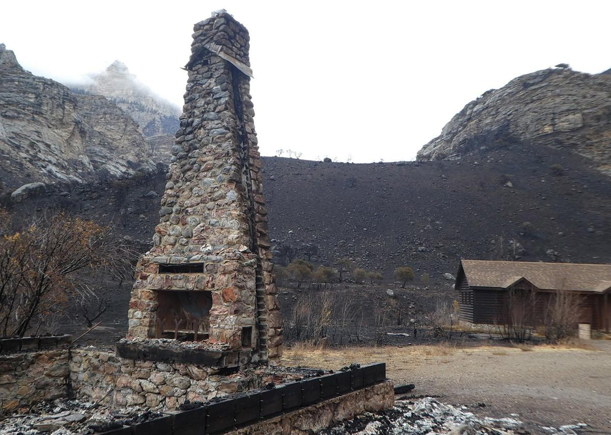 Touring The Damage From Lamoille Canyon Fire Local