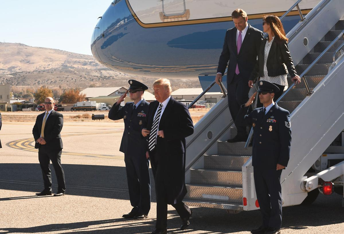 President Donald Trump Visits Elko