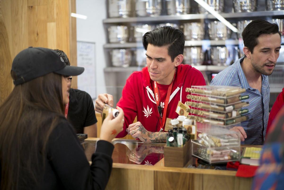 California Marijuana Open for Business