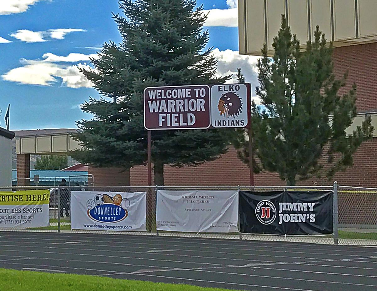 Warrior Field old scoreboard