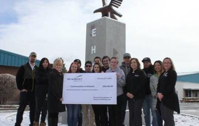 Newmont donates $62,420 to Communities in Schools