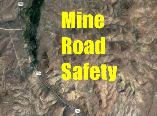 Mine road safety