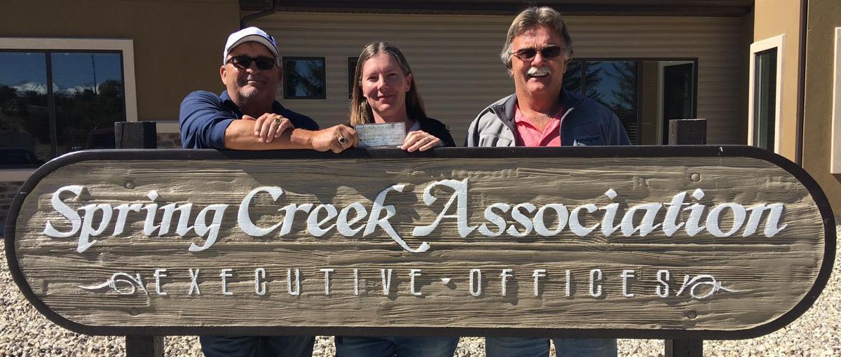 Spring Creek Golf Course receives donation