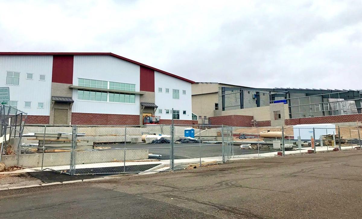 Elko High School's new buildings