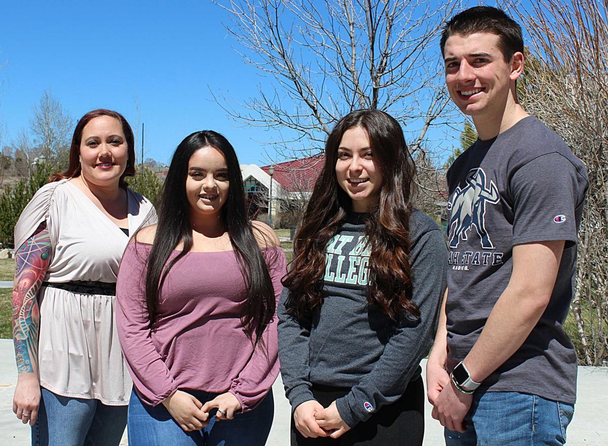 Graduates of Great Basin College biology class