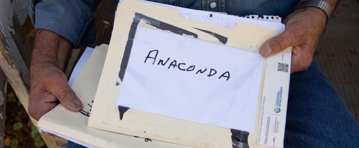 Anaconda Copper Mine - Folder