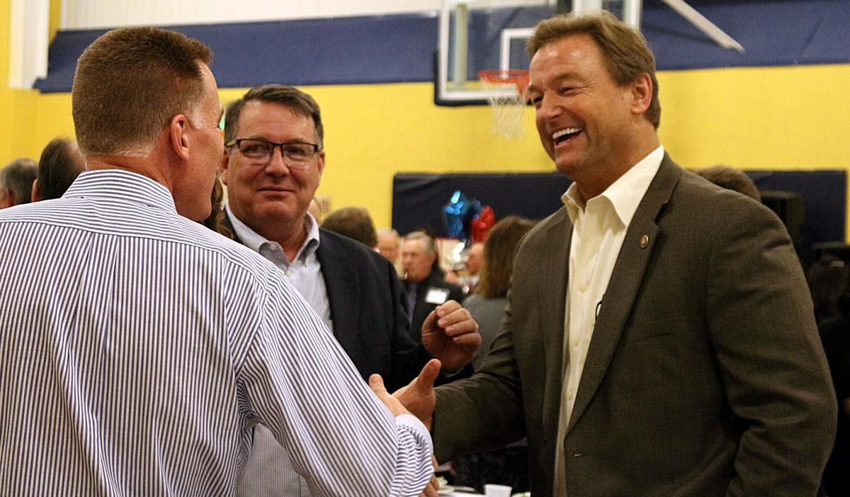 Dean Heller, Paul Gardner and James Winer