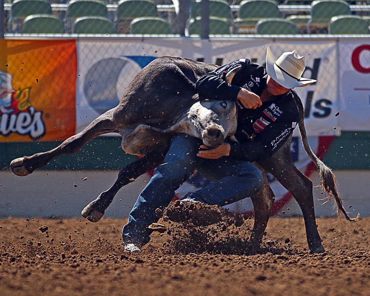 Close calls for Nevada cowboys in Reno Rodeo   Local Sports