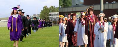 Spring Creek High School and Elko High School graduation