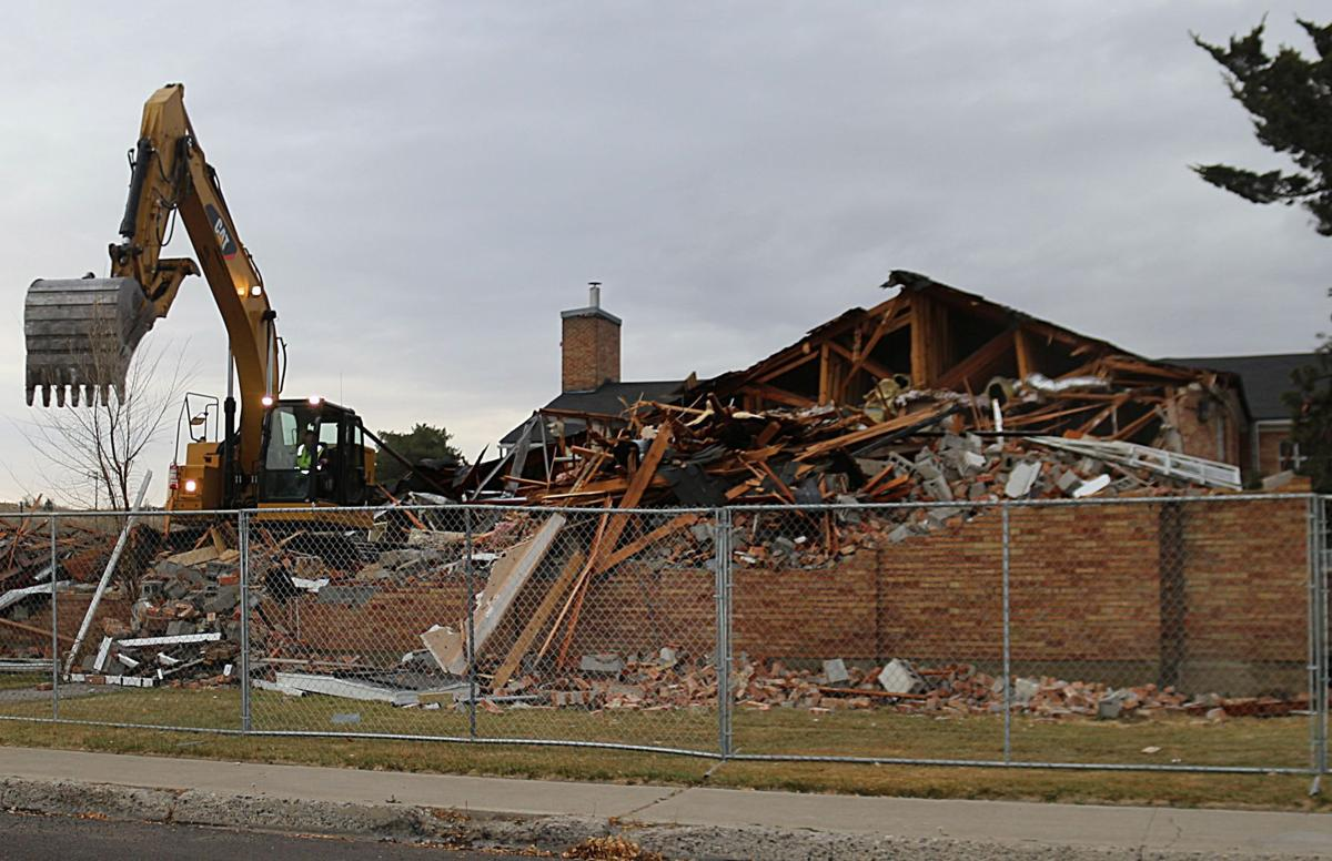 Demolition of old Elko Police Department