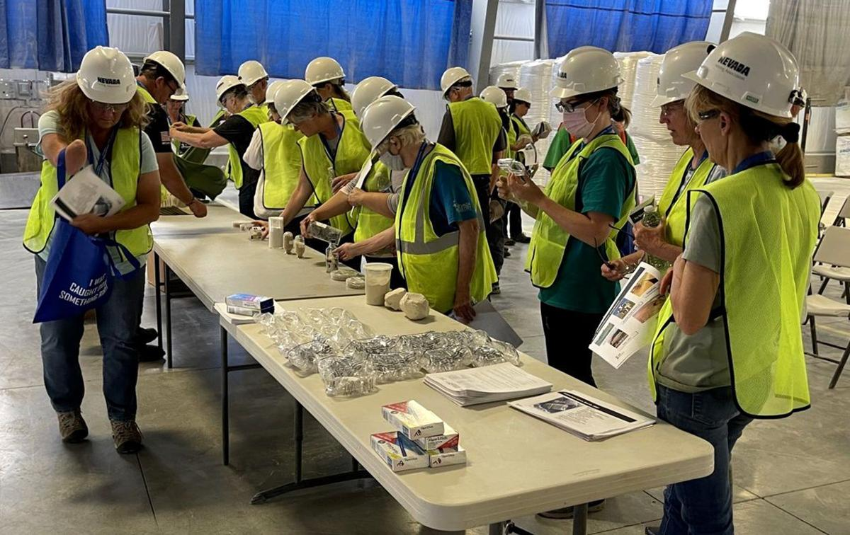 Mineral education workshop attracts 40 teachers