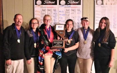 Wells girls golf 2018 state championship