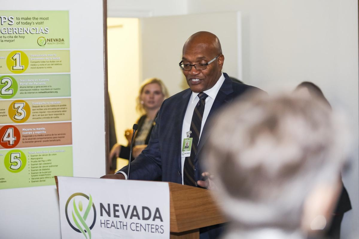 Walter B. Davis, president and CEO of Nevada Health Centers