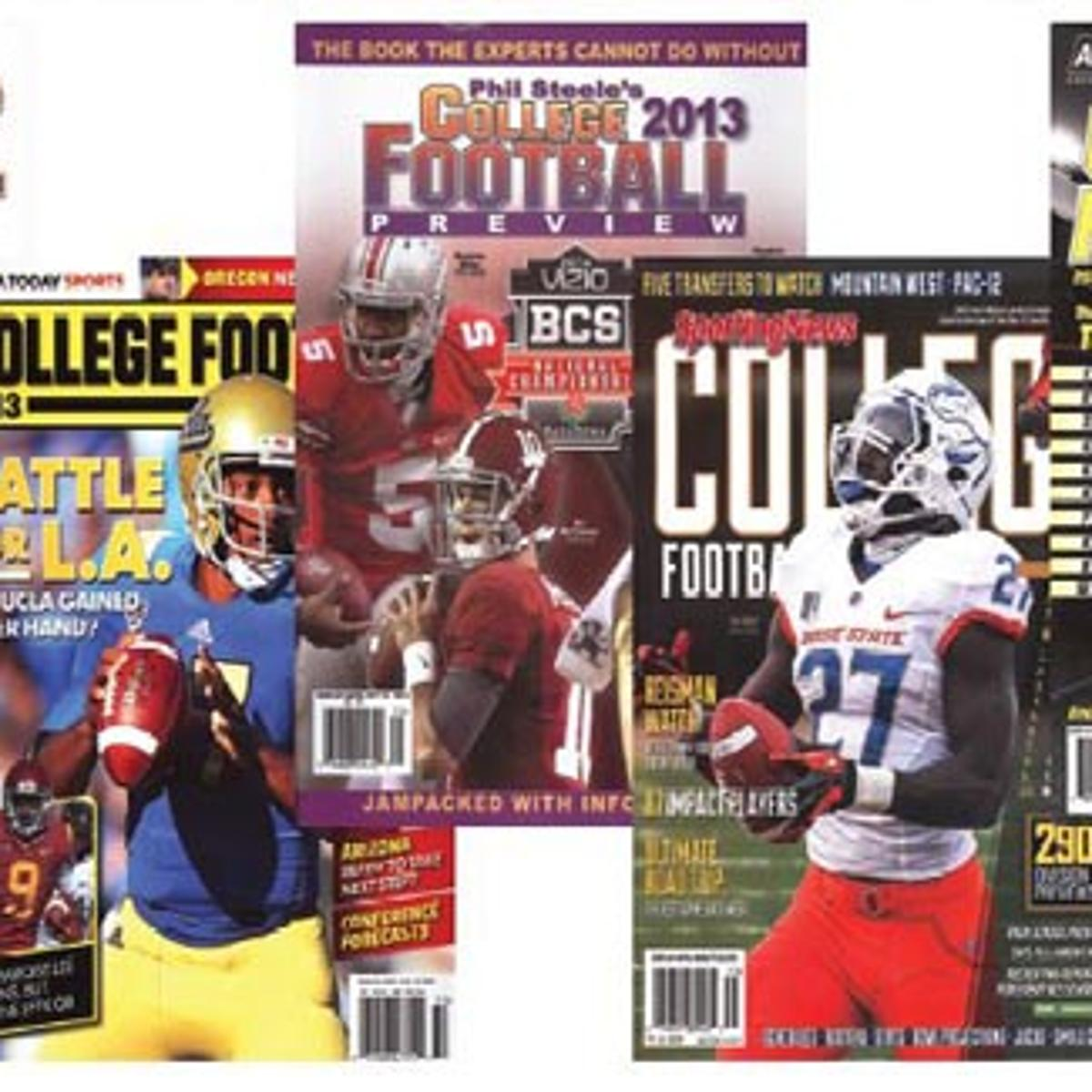 College Football Preview: Magazines are a sign football is almost