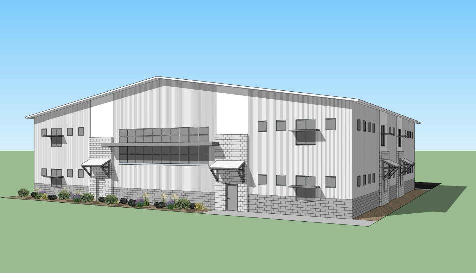 Elko High School science building