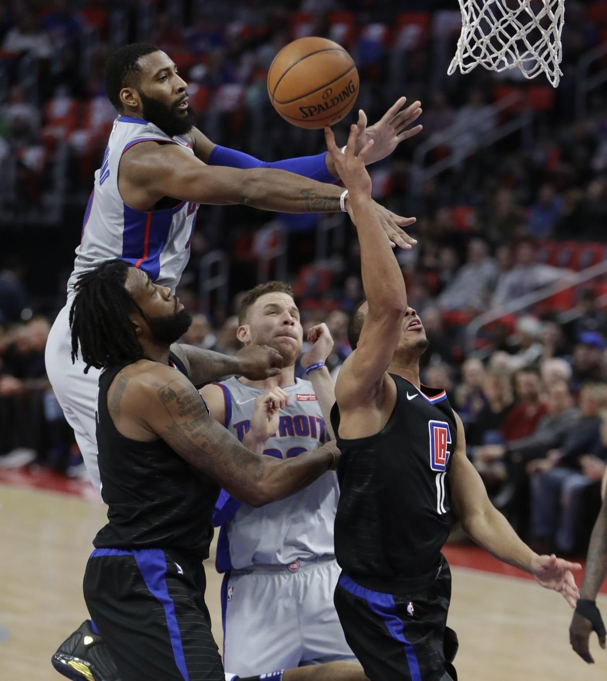 Clippers Pistons Basketball