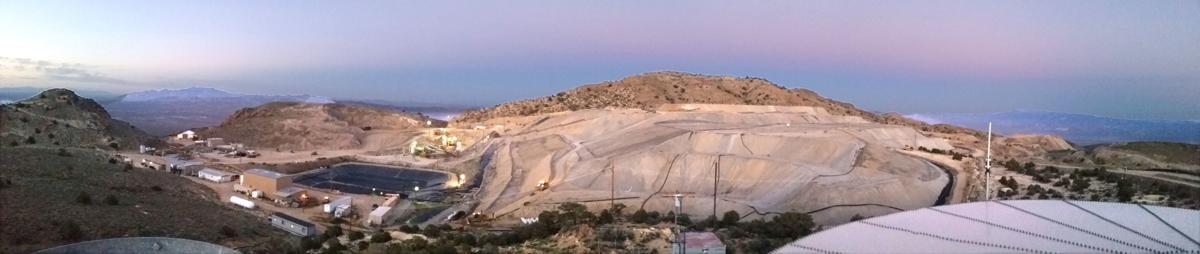 Scorpio Gold - Night panorama