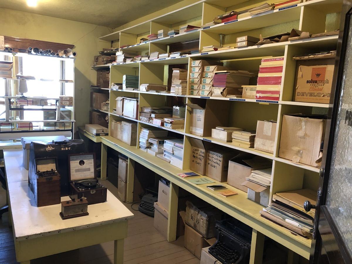 East Ely Depot storeroom