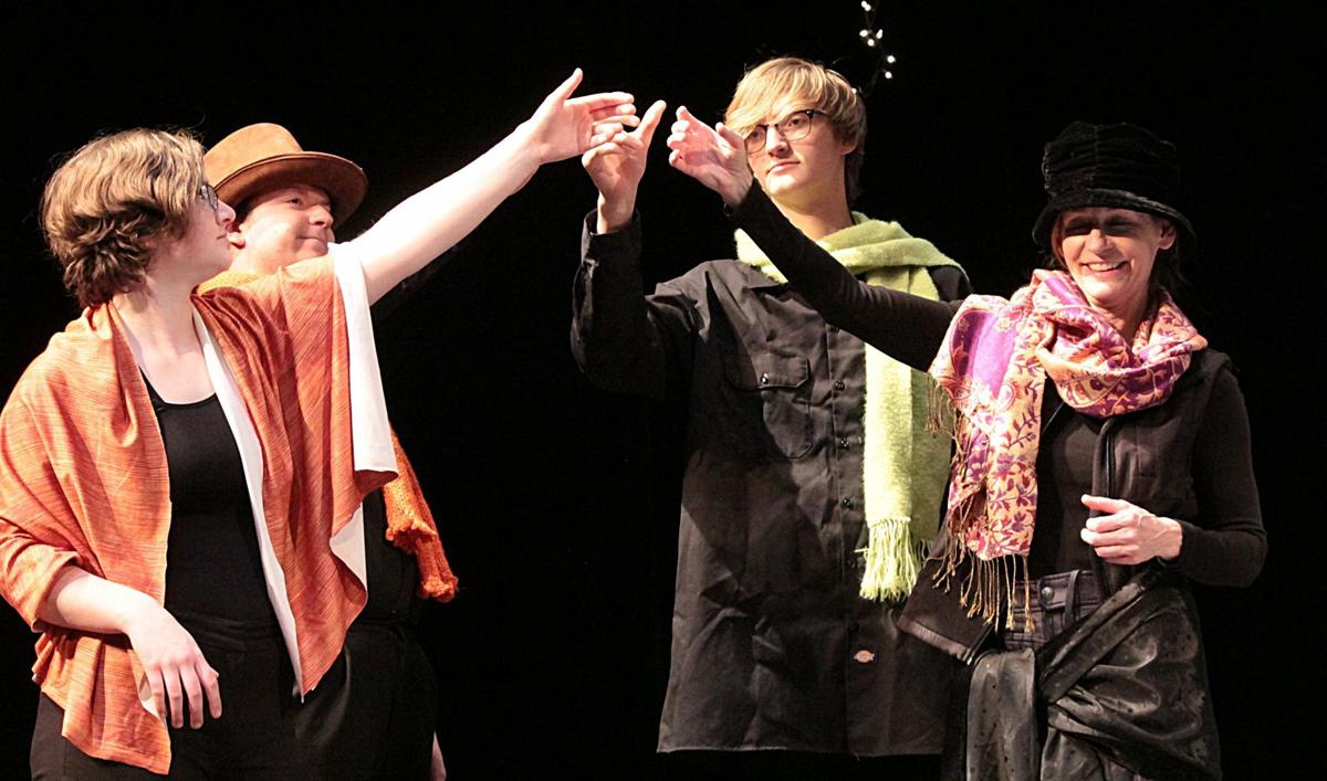 A toast to Ebenezer Scrooge