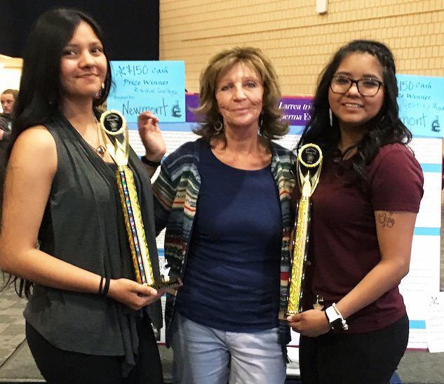 Owyhee STEM Fair grand prize winners