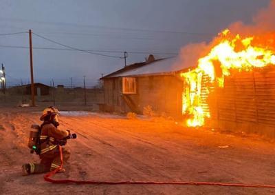 Wendover barracks fire