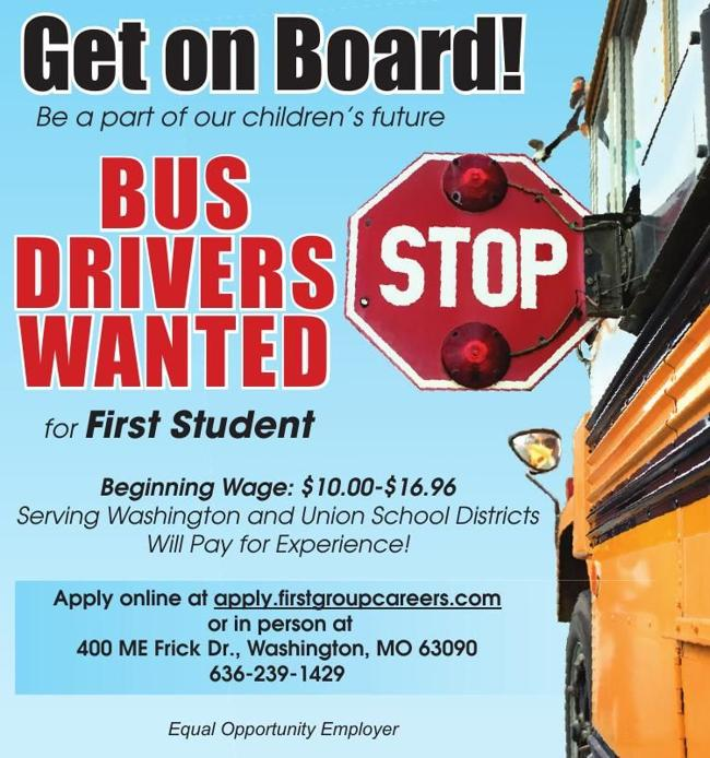 Bus Drivers Wanted!!