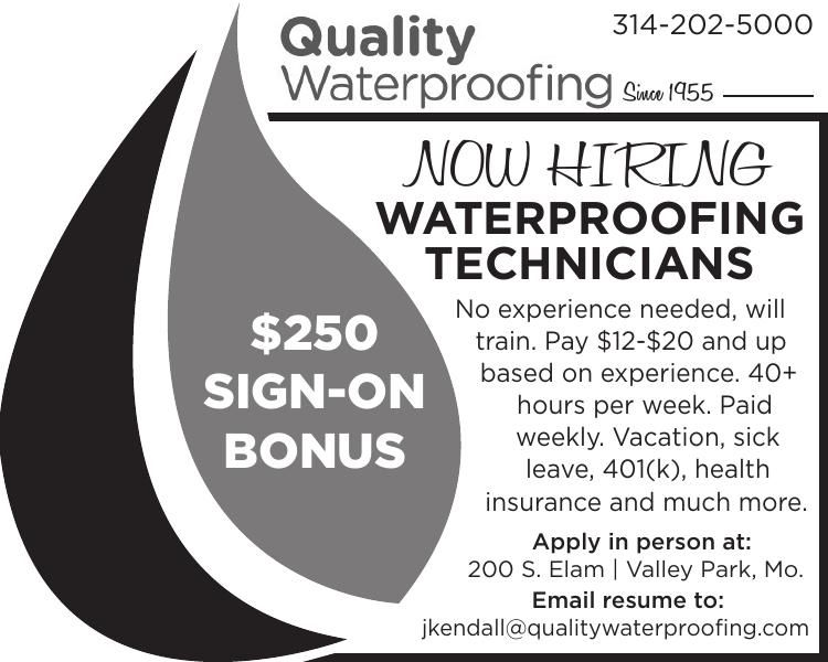 Waterproofing Technicians