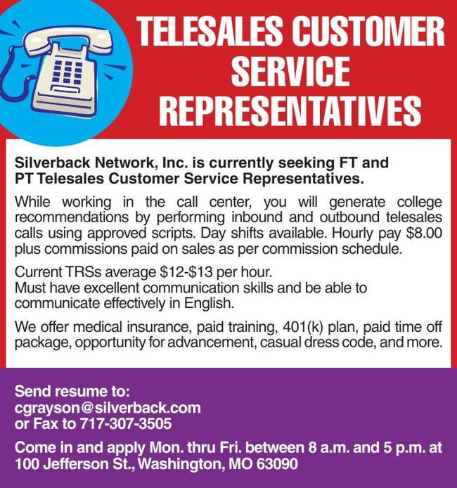 Telesales Customer Service