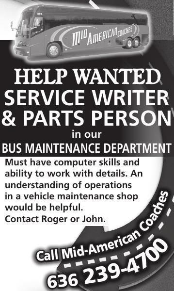 Service Writer & Parts Person