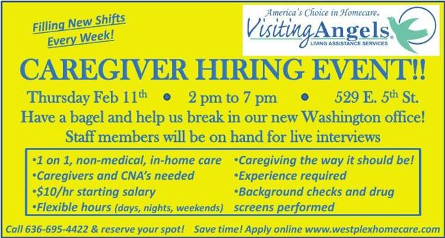 CAREGIVER HIRING EVENT!!