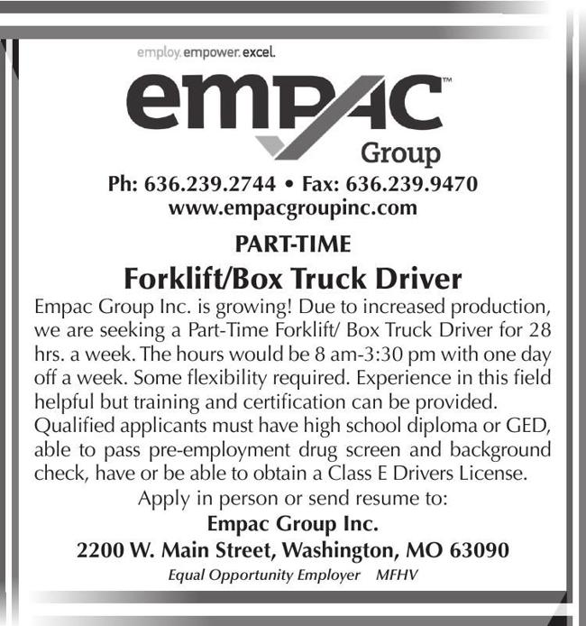 Forklift / Box Truck Driver