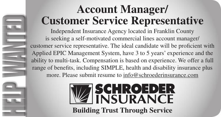 Account Manager / Customer Service Representative