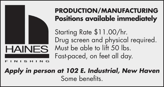 Production / Manufacturing Jobs