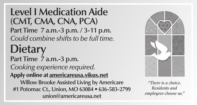 Healthcare Positions Available