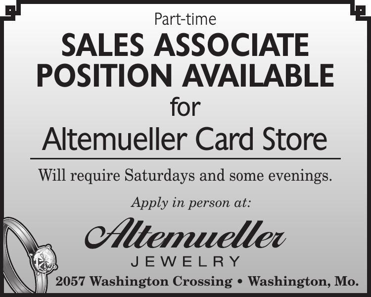Part-time Sales Associate