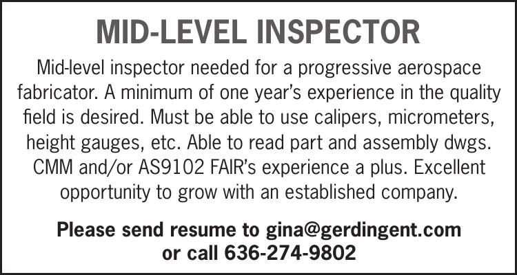 Mid Level Inspector