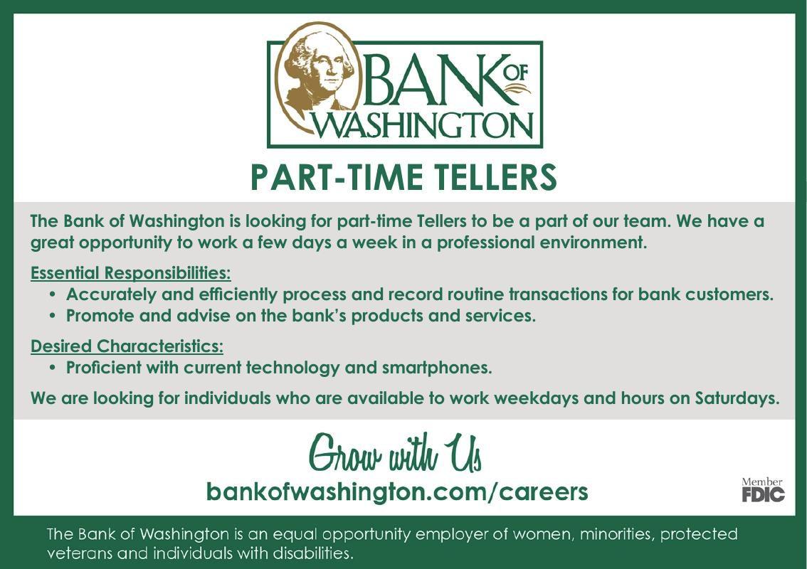 The Bank of Washington